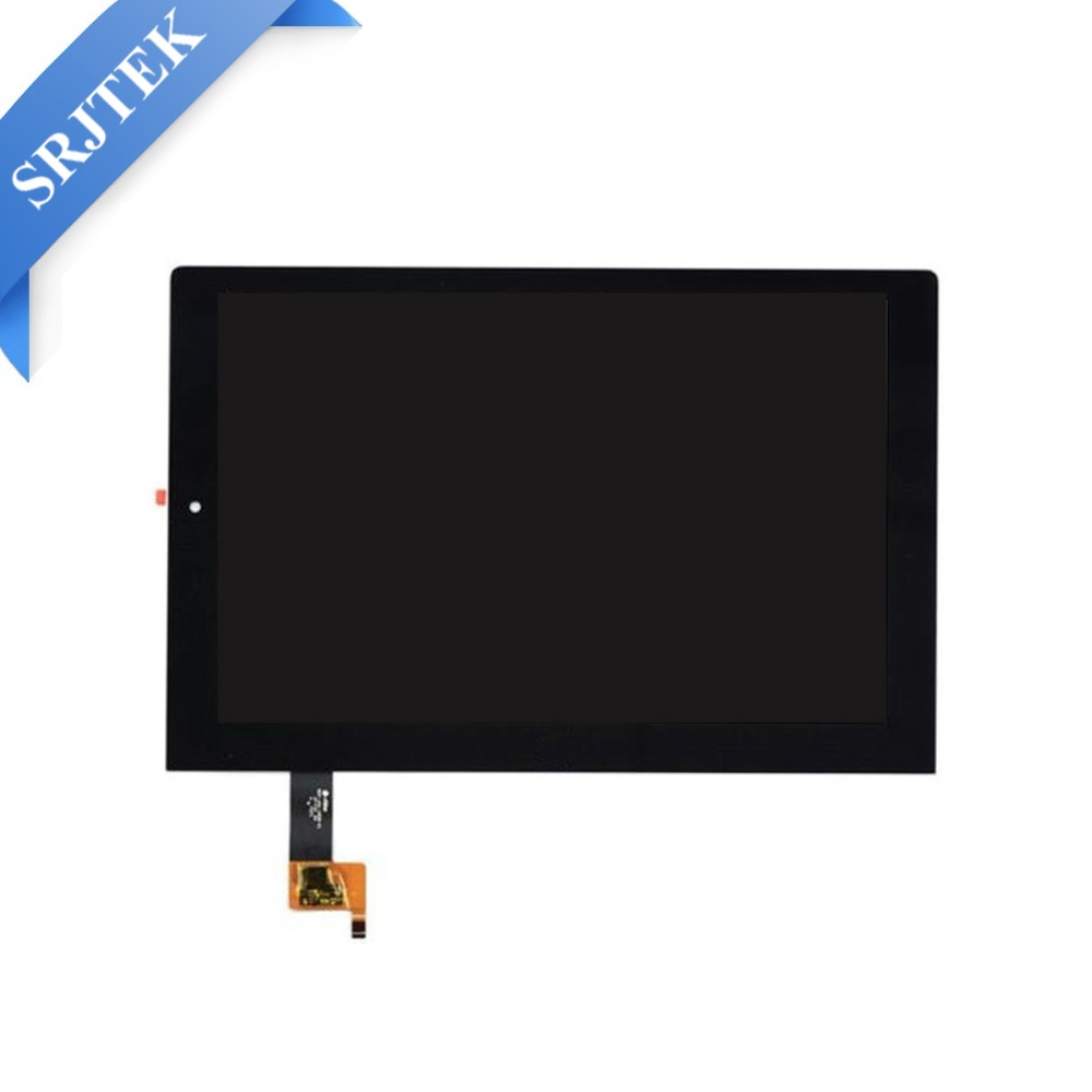 For Lenovo Yoga Tablet 2 1051 1051F 1051L New LCD Display Touch Screen Assembly Replacement 10.1 inch Black replacement new lcd display touch screen with frame assembly for lenovo yoga tablet 2 1051 1051f 1051l free shipping
