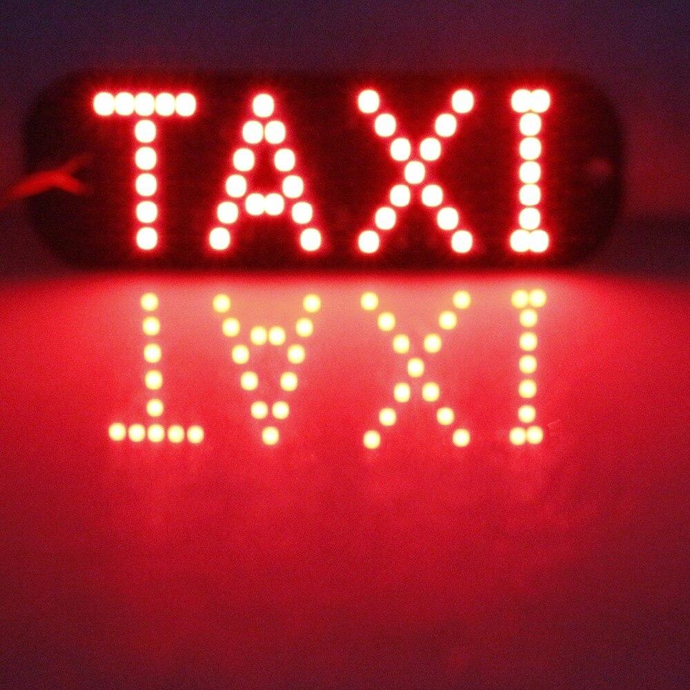 GEETANS 1pcs Taxi Libre Led registrske tablice Avtomobilske luči - Avtomobilske luči - Fotografija 5