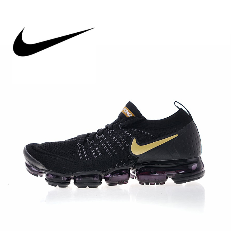 45c3dcf3b9696 Nike Air Vapormax Flyknit 2 Mens Running Shoes Sneakers Sport Outdoor Top  Quality Athletic Designer Footwear