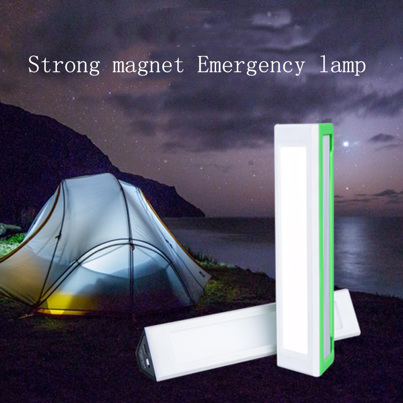 Multifunctional magnet LED emergency light flashlight 4 Modes outdoor lamp mini lantern camping light Portable tube rechargeable