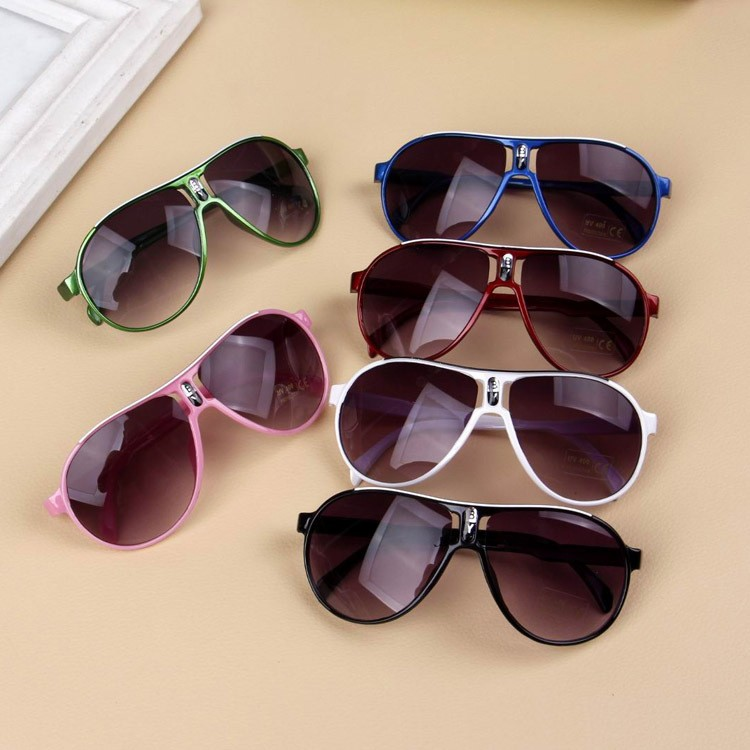 Vintage Children Sunglasses Kids Sunglasses Oval Sun Glasses Boys Girls Luxury Oculos Feminino Accessories UA400(China)