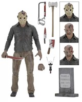 ALEN NECA Friday The 13th The Final Chapter Jason Voorhees PVC Action Figure Collectible Model Toy
