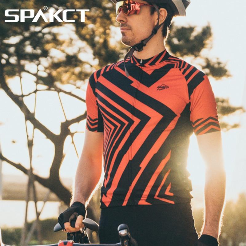 SPAKCT T-shirts de course Rashgard homme sport Fitness chemise cyclisme entraînement maillots vêtements de sport ajustement à sec vêtements livraison directe