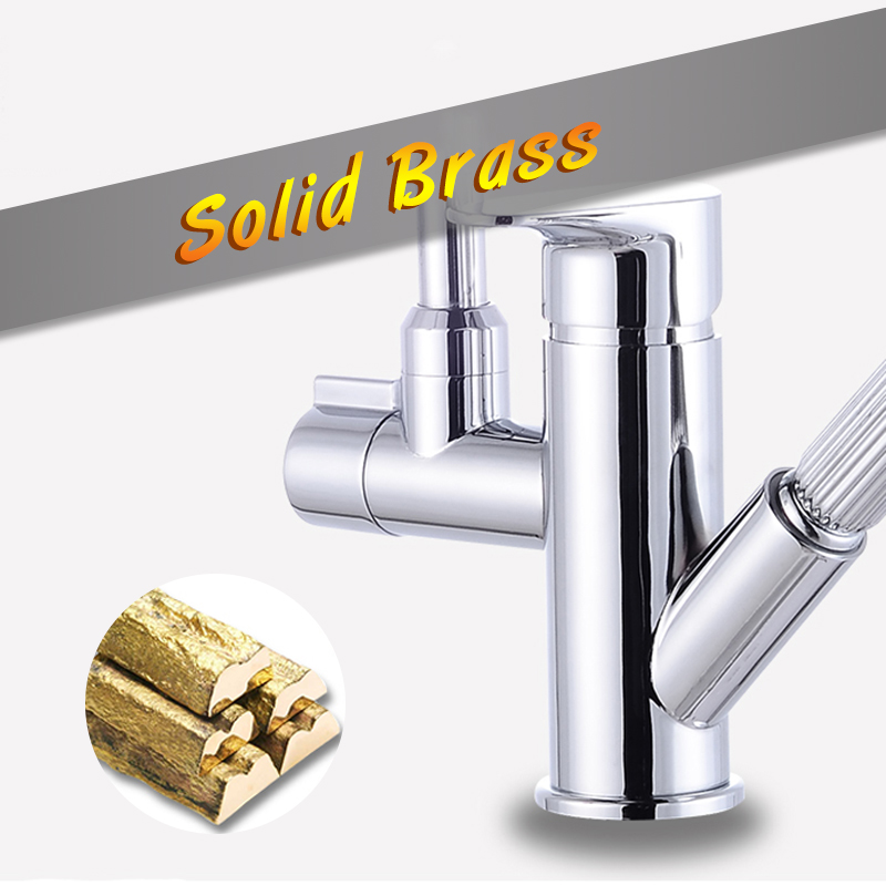 Stream-Sprayer-Kitchen-Faucet-Single-Handle-Dual-Spout-Pull-Out-Sprayer-Hand-Spanner-Flexible-Rotation-Hose(1)