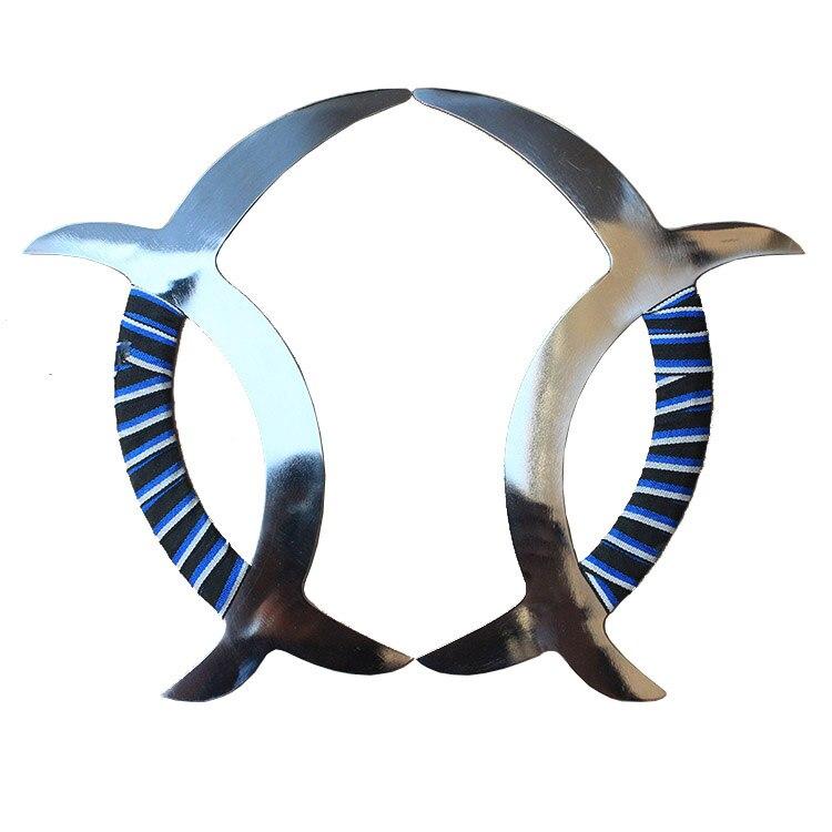 Меридиан мандарин утка tomahawk Нержавеющая сталь двойной Tomahawk китайский ушу оружие