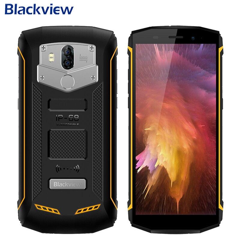 Blackview BV5800 Pro Étanche IP68 Téléphone Portable 5.5 2 gb + 16 gb MTK6357 D'android De Noyau de Quadruple 8.1 Double caméra 5580 mah Smartphone NFC