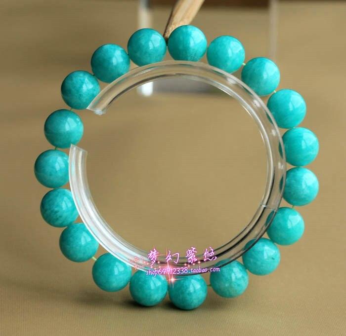 Amazonstone bracelet naturel amazon pierre amazonstone bracelet pierre frais bleu vert bracelet en cristal