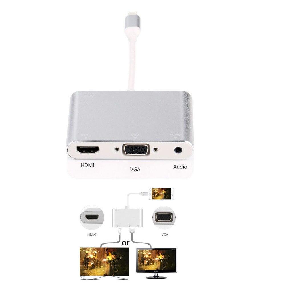 ᐅPlug and Play HDMI cable adaptador teléfono audio video a TV ...