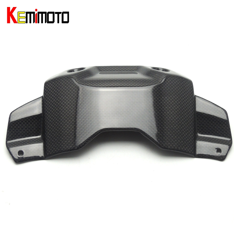 KEMiMOTO MT-09 MT09 MT 09 100% Real Carbon Fiber Front Tank Cover For YAMAHA MT-09 FZ-09 2014 2015 2016 FZ09 FZ 09 sep motorcycle accessories carbon fiber engine sprocket chain case cover clutch cover for yamaha mt09 fz09 tracer fj09 2014 2017
