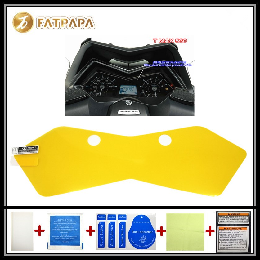 motorcycle Meter Km Table Display screen Blu-Ray Protective film Suitable FOR YAMAHA TMAX 530 TMAX530
