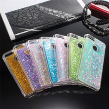 Купить с кэшбэком For xiaomi mi 5X case soft TPU phone case For xiaomi mi A1 5X cover Dynamic Liquid sand Transparent phone case sFor xiaomi mi 5X