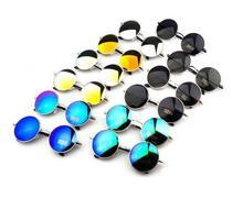 L35 mujeres gafas de sol redondas gafas de sol de Diseño de metal de la vendimia gafas de sol Retro gafas de sol mujer nueva