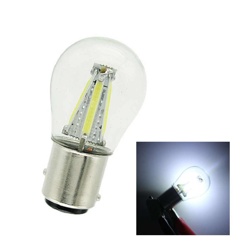ANBLUB P21W BA15S 1156 1157 BAY15D LED Car Tail Brake Light Bulbs 12V COB Filament Auto Parking Lamp Reverse Bulb DRL Lights
