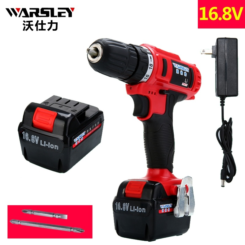 16.8v 2battery drill Batteries Screwdriver Electric Cordless Drill power tools Like Speed Dremel Mini Drill Europlug