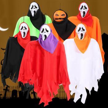 Nuovi Bambini di Halloween Cappotto Wicca Robe Medievale Capo Scialle Halloween Party Decoration Dropshipping Maschera di Halloween Hot