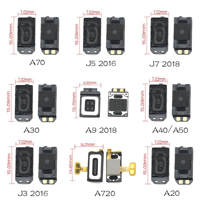 2pcs/lots New Earpiece Ear Speaker Receiver For Samsung A9 A8 A6 A7 J7 J6 J8 J4 2018 /J3 J5 2016 / A20 A30 A40 A50 A70