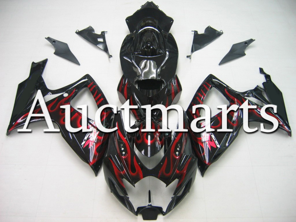 Fit for Suzuki GSX-R 600 2006 2007 ABS Plastic motorcycle Fairing Kit Bodywork GSXR600 06 07 GSXR 600 GSX R600  CB70 new motorcycle ram air intake tube duct for suzuki gsxr600 gsxr750 2006 2007 k6 abs plastic black