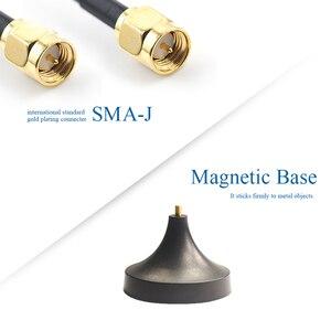 Image 4 - 2 stücke 4G Wifi Antenne 3G GSM LTE Magnetische Router Internet Antenne für Kommunikation Sma Omni Antena luft TX4G XPL 300