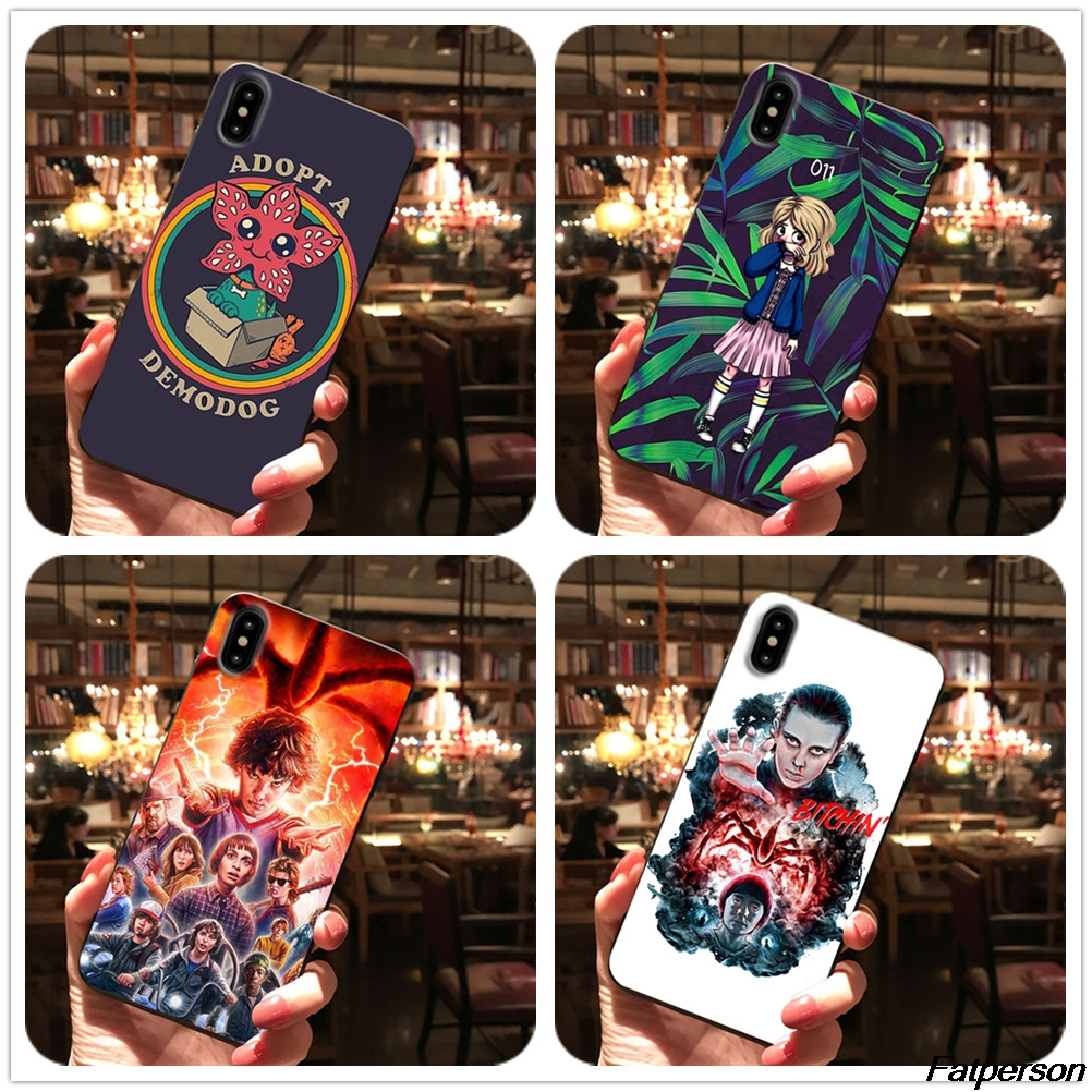 Stranger Things 3 For iPhone XS MAX X XR 5s 6 6s 7 8plus Coque cases For Samsung s8 s9