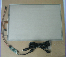 322x247mm Touch Digitizer 5Wire + USB Controller for 15″ LCD Monitor Glass Panel