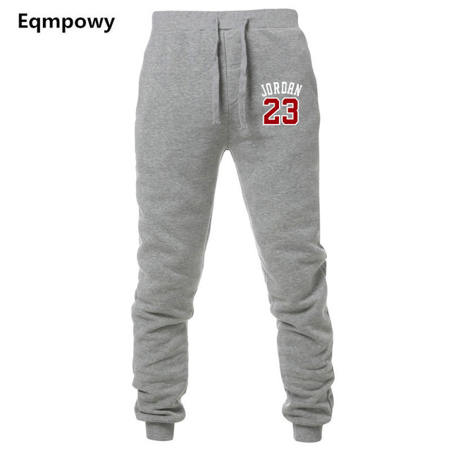 2be5fc359e849f Men Pants New Fashions Jordan 23 Joggers Pants Male Casual Sweatpants  Bodybuilding Fitness Track Pants Men s Sweat Trousers XXL