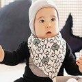 1 PCS 2016 Do Bebê Do Algodão Roupas Toalha Cachecol Bandana Do Bebê Babadores Bib Do Bebê Da Menina do Menino Coisas GMZ56