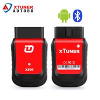 Newest XTuner X500 Android Car Scanner Diagnostic Tool OBDII ABS Battery DPF EPB Oil TPMS IMMO