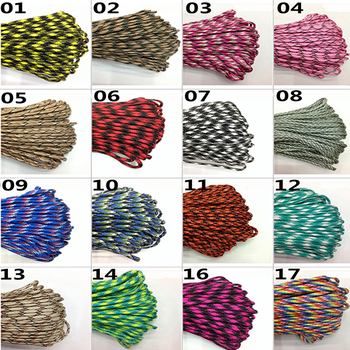 10M Paracord 550 Paracord Parachute Cord Lanyard Rope Mil Spec Type III 7 Strand Climbing Camping Survival Paracord 2