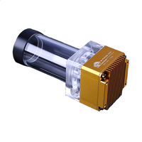 Components 6 Meters Water Cooling Radiator Flow Rate Reservoir DDC Pump Kits Office Tank Computer Accessories Sine Wave DDC Pump