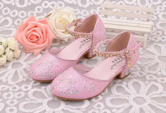Aliexpress.com : Buy Children Princess Sandals Kids Girls Wedding ...