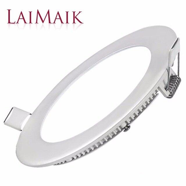 LAIMAIK LED Panel Light AC85~265v Ceiling Light SMD2835 LED Panel Lamp Absorb Dome Lamp For Living Room LED Downlight