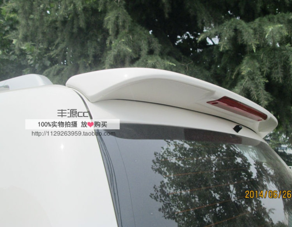 Spoiler For Mitsubishi Pajero Sport 2011.2012.2013.2014.2015 High Quality Rear Wing Spoilers Trunk Lid Diffuser|rear wing spoiler|wing spoiler|rear wing - title=