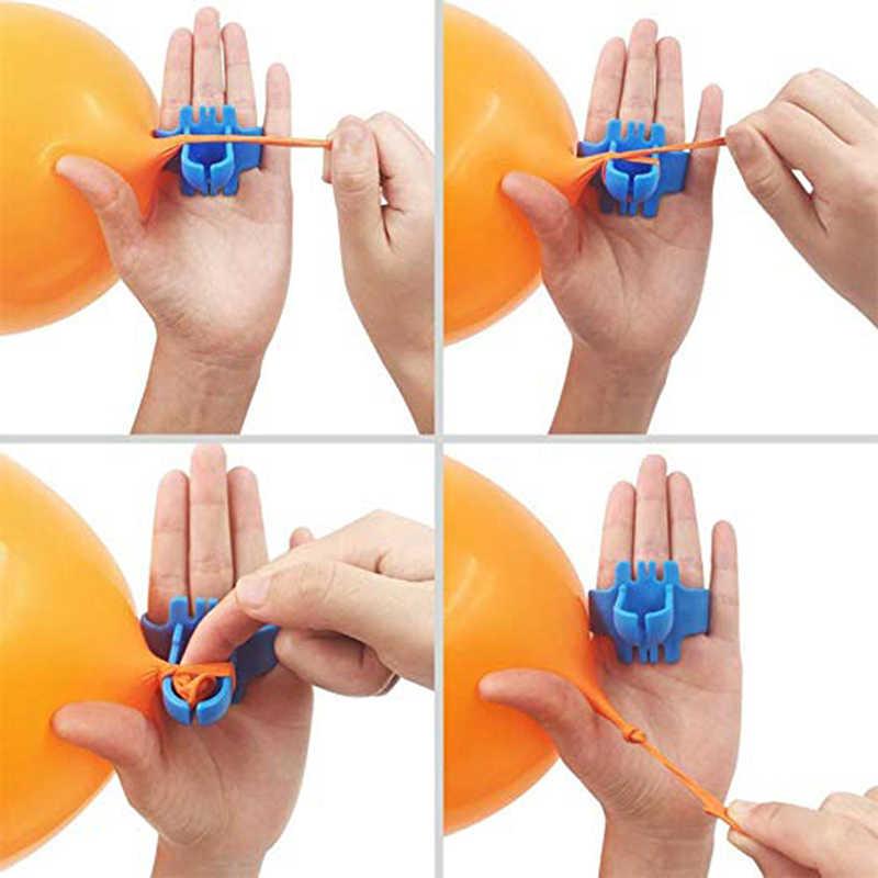 בלון קשת זר לקשט רצועת ערכת בלון קלטת רצועת קשירת כלי Ballon דוט דבק קל בלוני קשר עניבה