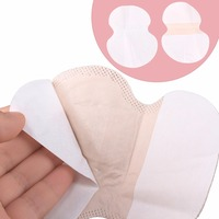 New Arrive 50pcs 25pairs Underarm Sweat Pads Dress Clothing Perspiration Pads Shield Absorbing Free Shipping