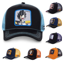 New Brand 12 Styles Dragon Ball Snapback Cap Cotton Baseball Cap