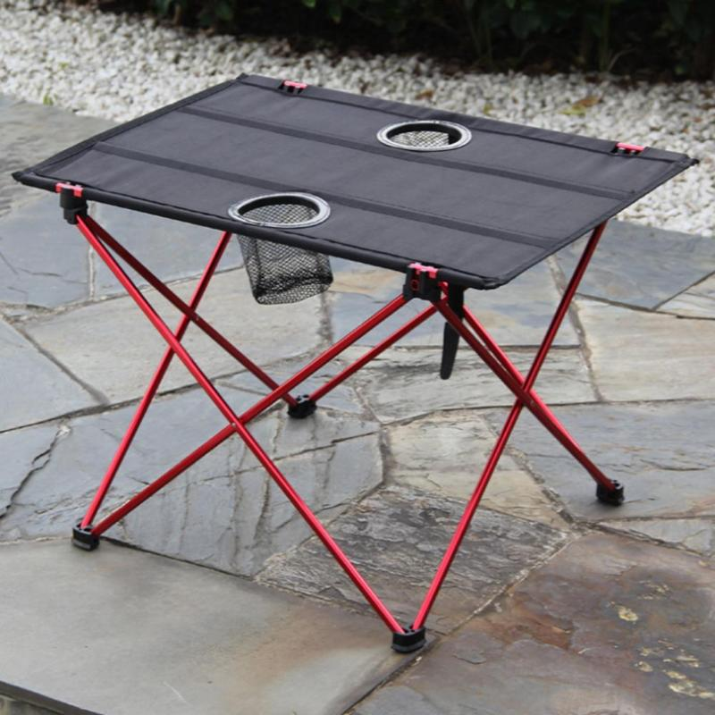 Portable Lightweight Outdoors Table For Camping Table Aluminium Alloy Picnic BBQ Folding Table Outdoor Activties Tavel Tables outdoor folding tables and chairs combination set portable lightweight for picnic bbq camping aluminum alloy easy fold up