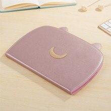 Para ipad aire2 caso Luna patrón PU funda de Piel para apple iPad aire 2 cubierta de protección de la Tableta con la función del soporte