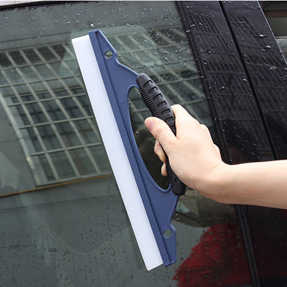 Hot-selling Car Glass Window Wiper Soap Cleaner Squeegee Shower Bathroom Mirror Car Blade Brush Dropship p#