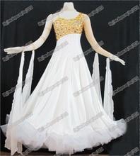 Modern Waltz Tango Ballroom Dance Dress,Smooth Ballroom Dress,Standard Ballroom Dress Girls,Girls/Women Modern Dance Wear,B-0520