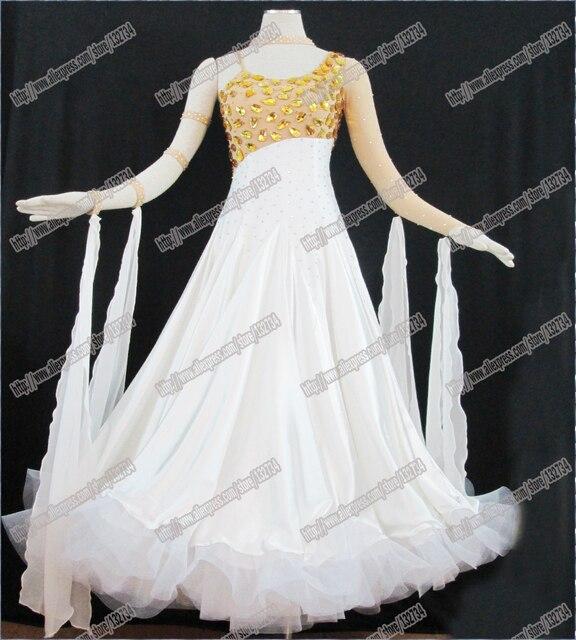 aee4d2f0 US $248.0 20% OFF|Nowoczesne Waltz Tango Taniec Towarzyski Sukienka, Gładka  Balowej Sukni, Standard Ballroom Dress Dziewczyny, Dziewczyny/Kobiety ...