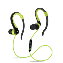 Bluetooth Wireless Headphones stereo Ear Hook earphone Running Earbuds Headset Sport Handsfree With Mic for Mobile Phone