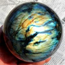 2019 Natural Labradorite Rose Quartz Amethyst Sphere Crystal Ball Healing Citrine for Home Living Decoration best natural dream amethyst crystal sphere ball orb gem stone