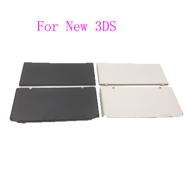For Nintendo New 3DS 2015 Version Zierblende Faceplate Cover Plates Upper and Back Battery Housing Shell Case