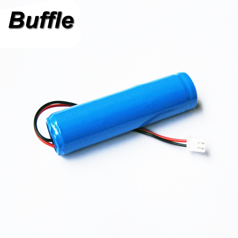 Buffle 2600 mAh 3.7 V Li-ion Lithium 1S Rechargeable Battery Pack for Flashlight