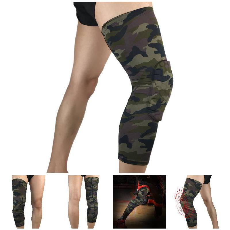 Breathable Anti-collision Knee Pad Men Leg Sleeve Brace Protector Sports Guard Kneepad Outdoor Climbing Riding Sports Safety