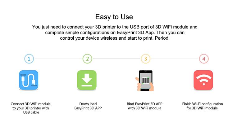 Geeetech 3D WiFi Module Box For 3D Printers 3