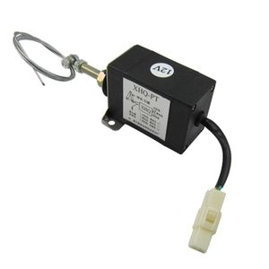 Image 4 - Normally Open DC 12V/24V Diesel Engine Flame Out Device Engine Stop Solenoid Valve XHQ PT Power on Pull Type Flameout Magnetic