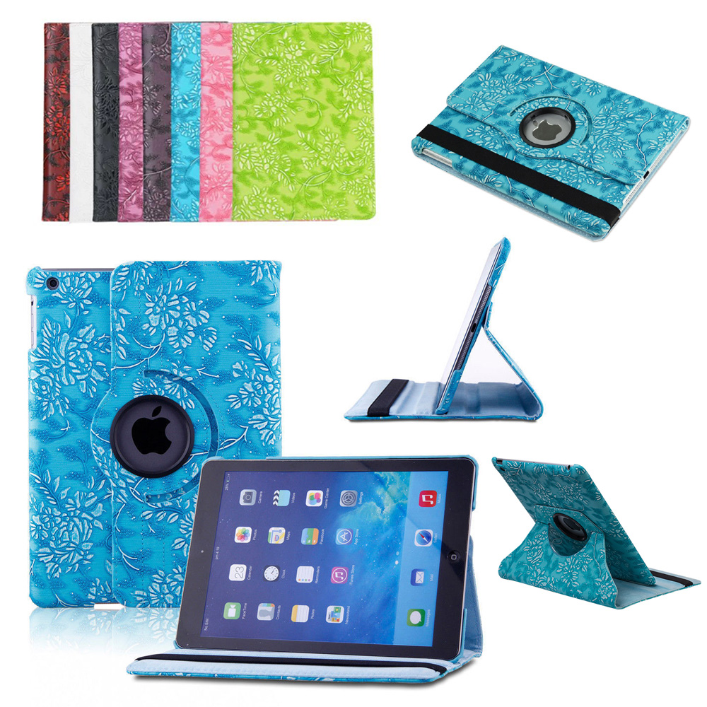 360 Degree Rotating Grape Stand PU Leather Skin Case For Apple iPad 9.7 2018 2017 Generation Tablet Smart Cover Flip Coque Funda for apple ipad mini 4 case flip grape patterns pu leather protective cover rotate tablet pc stand shock resistant coque para