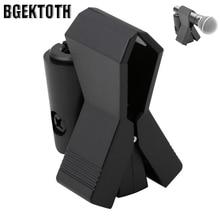 BGEKTOTH Гибкий микрофон микрофонная подставка аксессуар пластиковый зажим держатель черный
