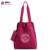 JINIQAOER 2 EN 1 Las Mujeres Bolso de Lazo de Nylon Marca de Impresión Bolsa de Asas 2017 Del Diseñador Bolsos de Hombro Simple Bolsa de Playa Impermeable